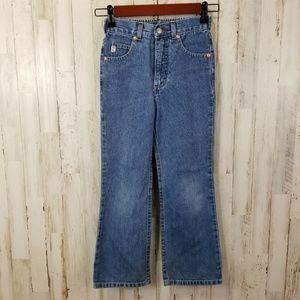 Guess Girls Jeans 6X Blue Denim Vintage
